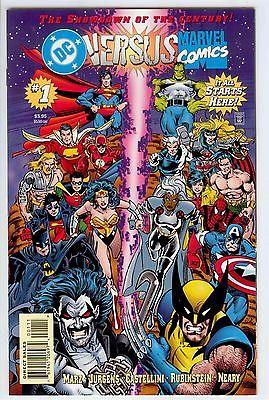 DC Versus Marvel / Marvel Versus DC #'s 1-4 / Crossover Event