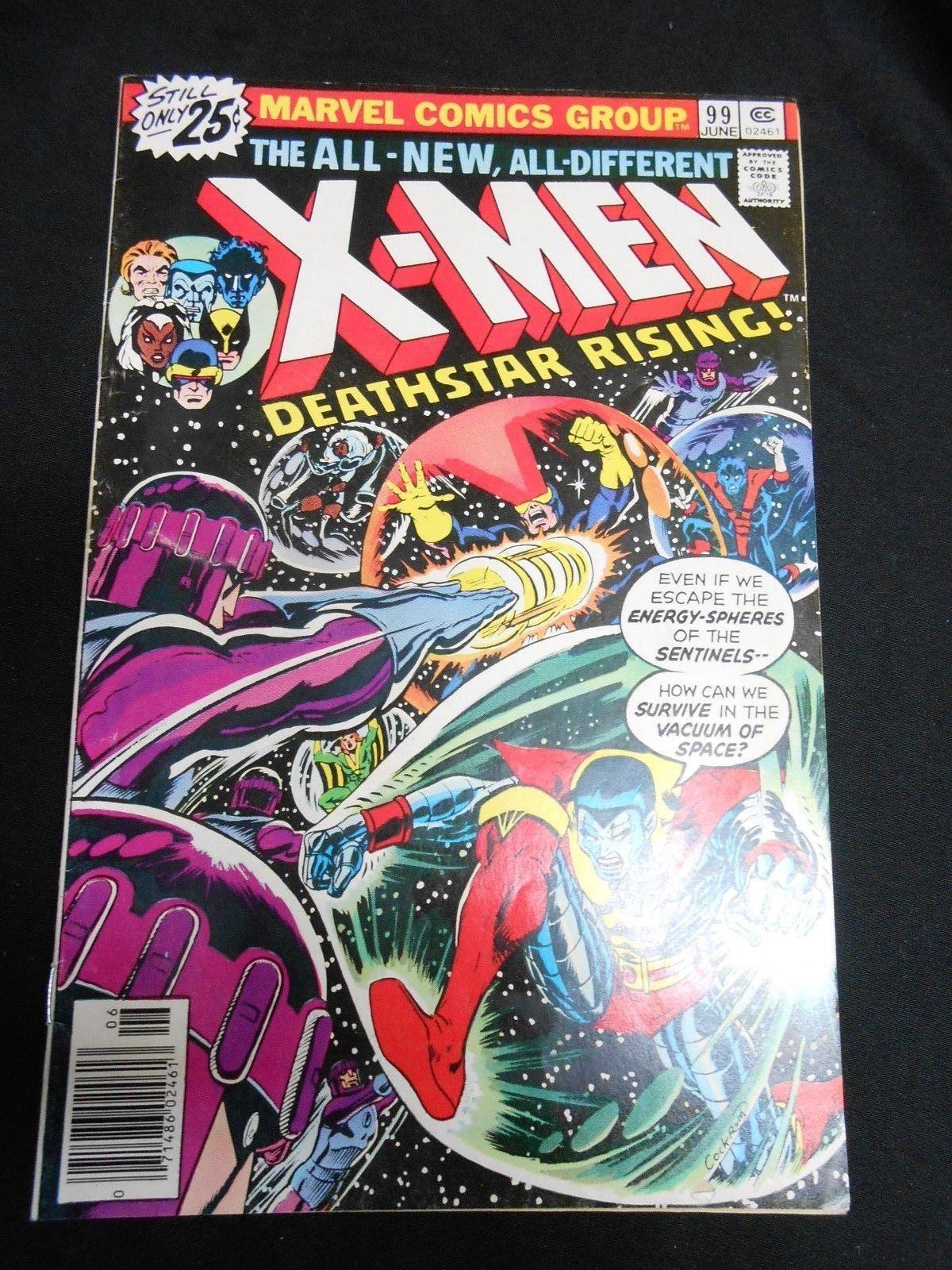 Lot of 7 Uncanny X-Men Comics #99 #110 #123 #126 #128 #132 #142