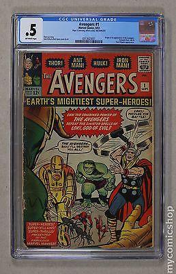 Avengers (1963 1st Series) #1 CGC 0.5 0313623001