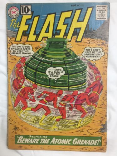 The Flash Comic Lot 122 130 138 141 144 146 Silver Age Key Issues D.C. Mid Grade