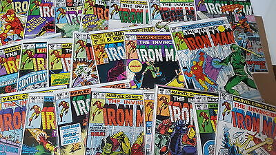 Iron Man Comic 124 125 127 128 129 130 131 132 133 134 135 136 137 138 140 141