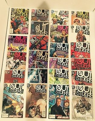 LOT OF 97 OUTSIDERS V1 #1-50 + BATMAN AND THE OUTSIDERS V2 #1-40  COMPLETE SETS