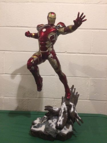 Iron Studios Age of Ultron Iron Man Mark XLIII Statue 1/4 Scale Marvel #153/300