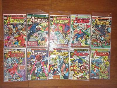 Avengers Lot ( 10 ) # 137 - 171 AvgGrd: 5.0 - Captain America Iron Man MARVEL