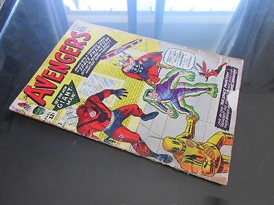 Avengers #2 MARVEL 1963 - 2nd App of The Avengers - Hulk leaves The Avengers
