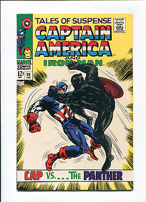 Tales of Suspense #98 NM 9.4 HIGH GRADE Marvel Comic Black Panther Cover Silver