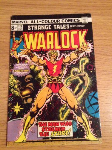 Marvel Strange Tales Featuring Warlock #178  1st Magus- Warlocks Opposite
