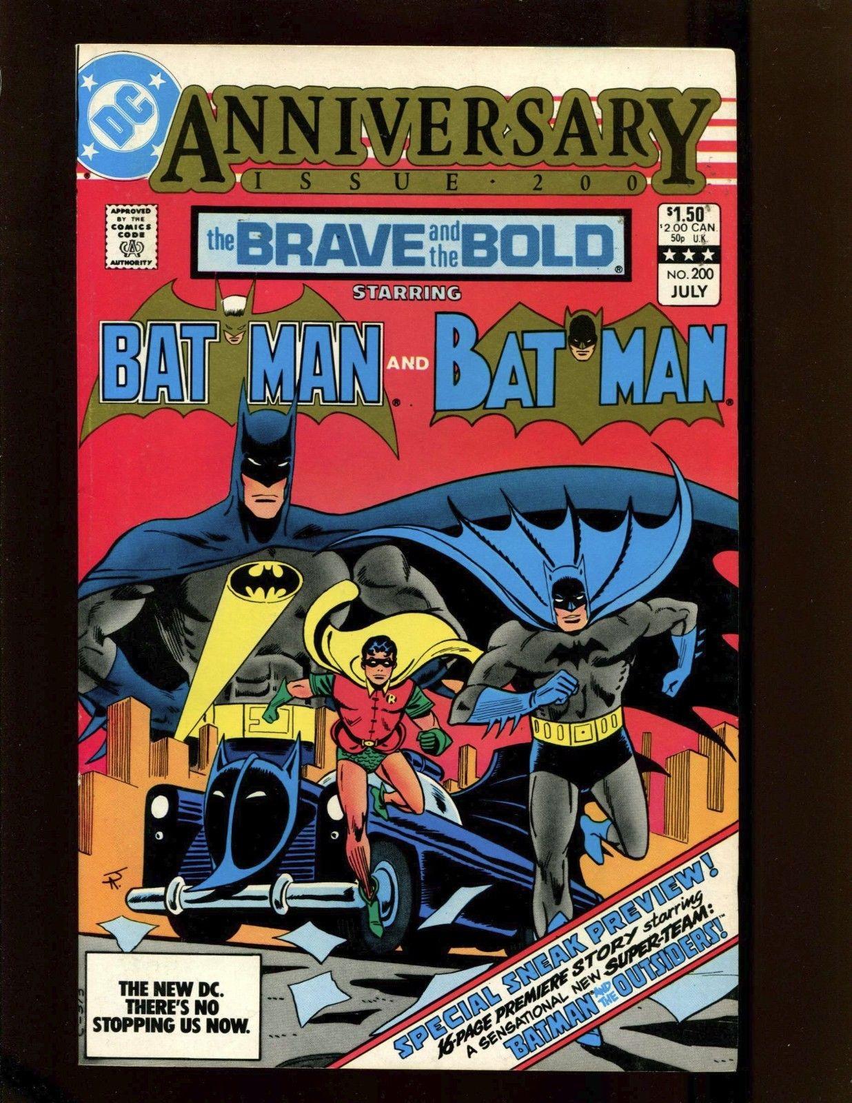 Brave and the Bold #200 VF- Aparo 1st Batman & Outsiders Katana Halo & Geo-Force