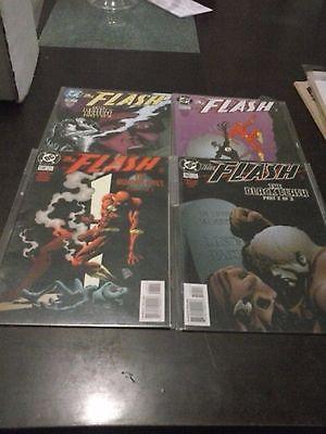 The Flash #138 139 140 141 (Black Flash & The Human Race) F/VF Lot .99c