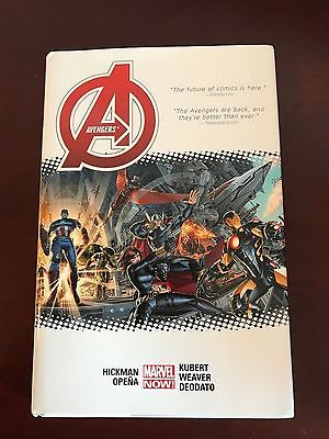 Avengers by Hickman OHC Lot - Avengers 1 & 2, New Avengers 2 Hardcovers