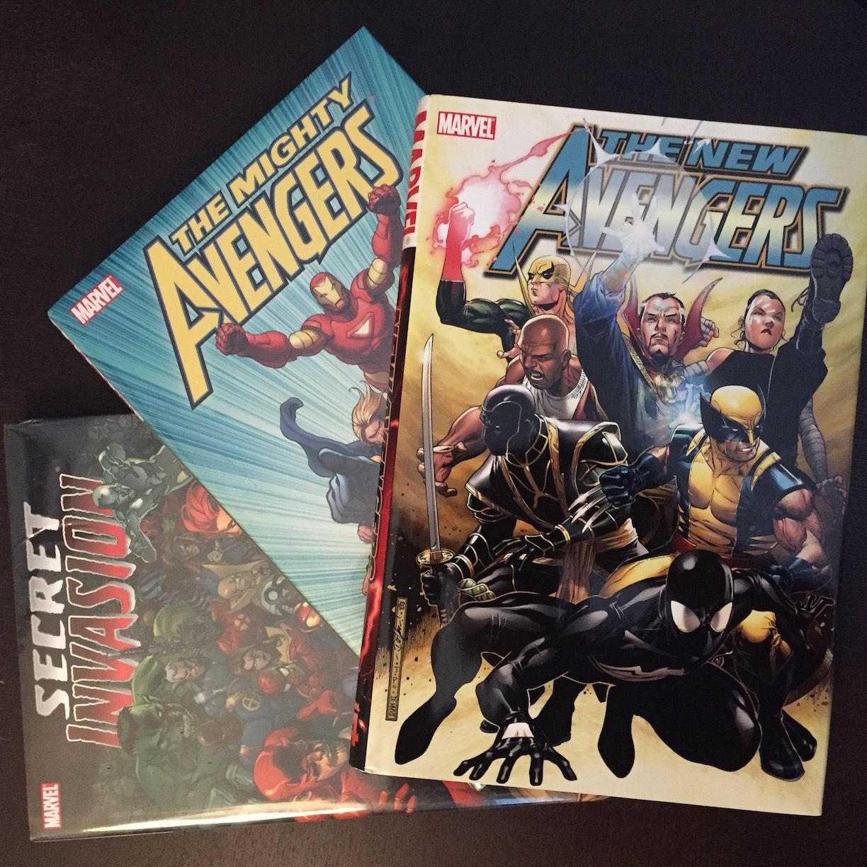 NEW AVENGERS series 1 - Secret Invasion + Mighty Avengers + New Avengers vol 4