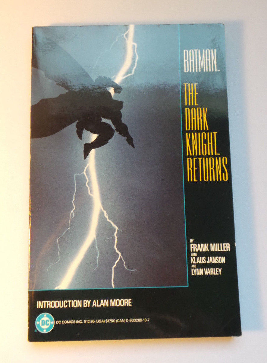 Batman: The Dark Knight Returns TPB - 1st Printing (1986) VF/VF+ Miller / Janson