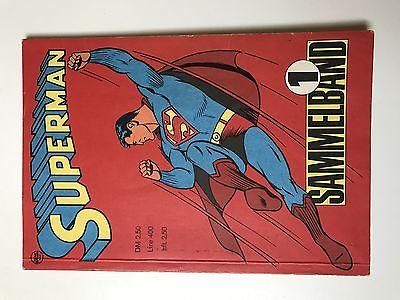 Superman Sammelband Nr.1    (sehr guter Zustand)