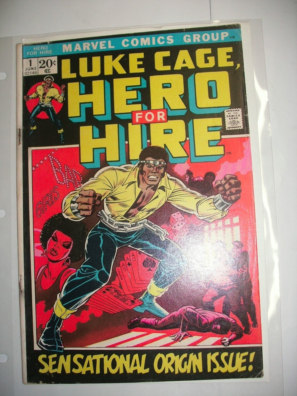 Luke Cage #1 Marvel Key Issue