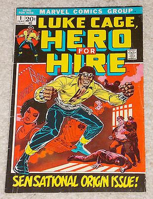 Luke Cage, Hero For Hire #1, June 1972 Marvel, Sensational Origin Issue