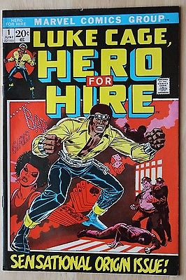 Luke Cage #1 First Appearance Marvel Key Issue Romita Art No Reserve Wow