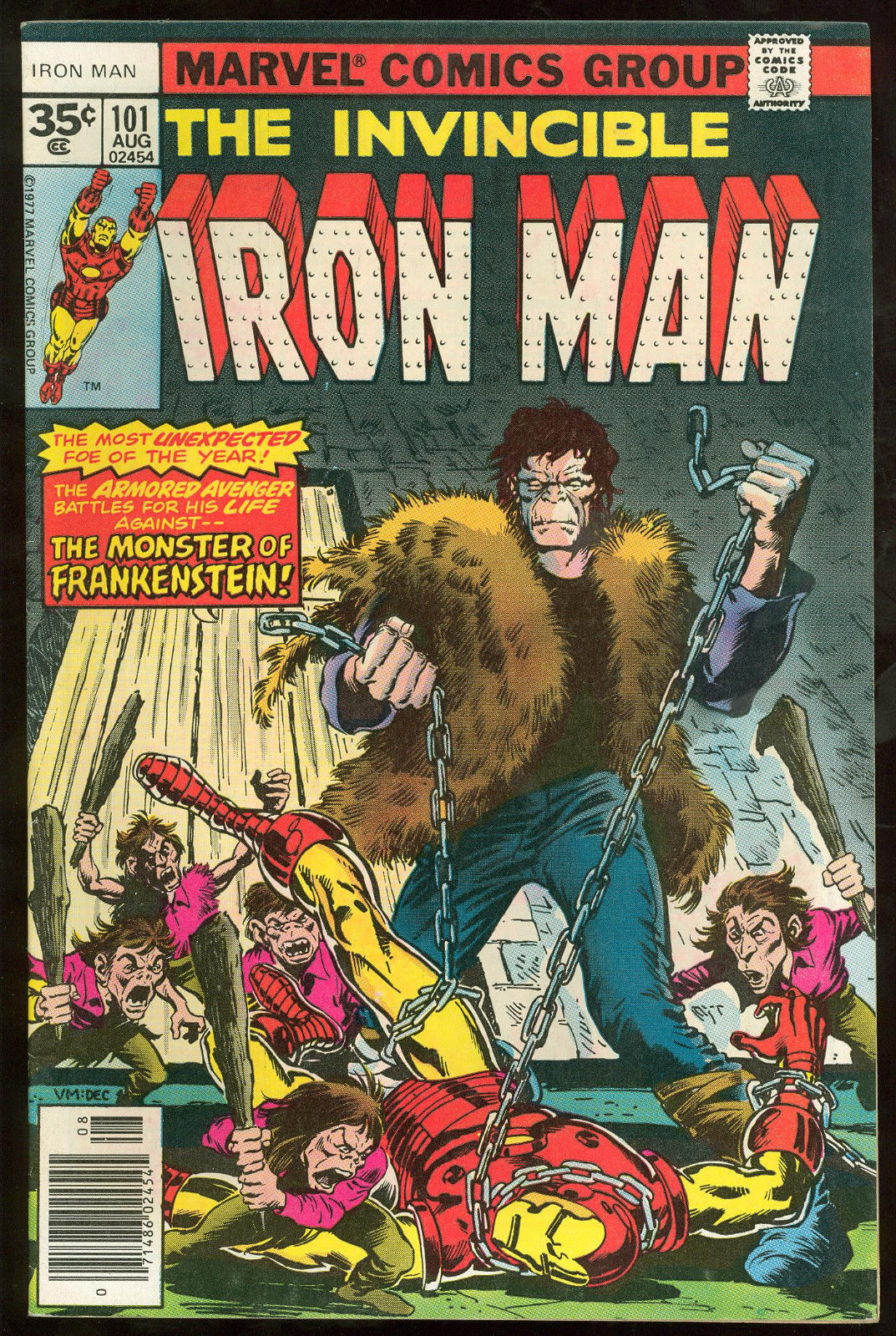 IRON MAN #101 RARE 35 CENT PRICE VARIANT .35 HIGHER GRADE