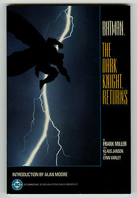 Batman The Dark Knight Returns 1st print TPB Grahpic novel Near mint unread