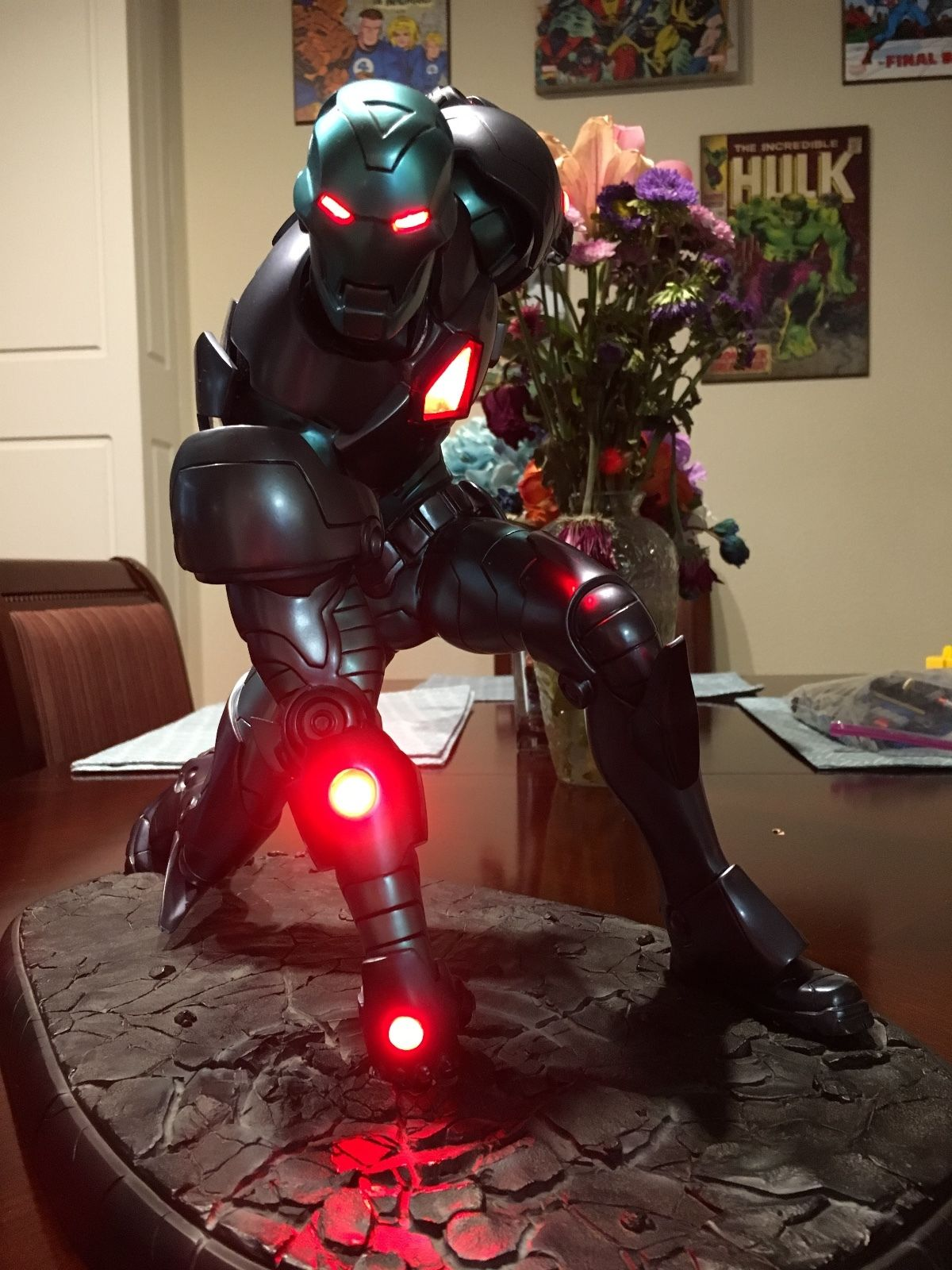 SideShow Collectibles Stealth Iron Man Comiquette #120/1250