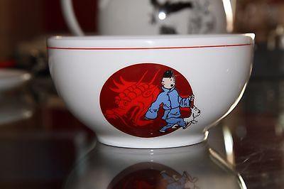 BOL TINTIN Le Lotus bleu ( Bowl Kuifje no axis aroutcheff fariboles leblon pixi