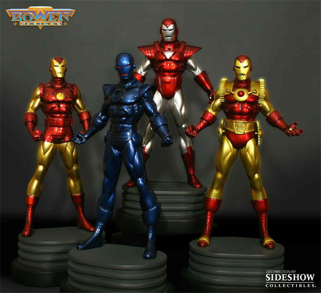 Bowen Designs Iron Man 4 Pack Full Size Statue Avengers NEW MIB 97/300