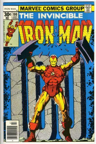 IRON MAN #100 - Iron Man vs Mandarin - Starlin