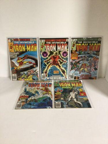 Iron Man 121 122 123 124 125 126 127 128 129 130 Fn-Vf Fine-Very Fine 6.0-8.0