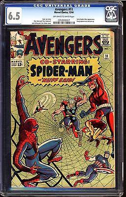 Avengers #11 CGC 6.5