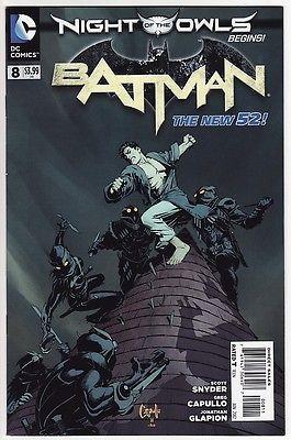 BATMAN #8,9,10,11,12/ANNUAL #1 DC Comics New 52 Scott Snyder NIGHT OF THE OWLS