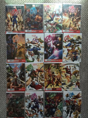Complete Hickman Avengers run - Avengers 1-44, New Avengers 1-33  and MUCH MORE