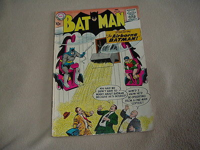 1958 SILVER AGE BATMAN #120 COMIC BOOK - DC COMICS VG/FN