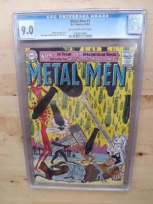 METAL MEN #1 CGC 9.0  FREE U.K. POSTAGE