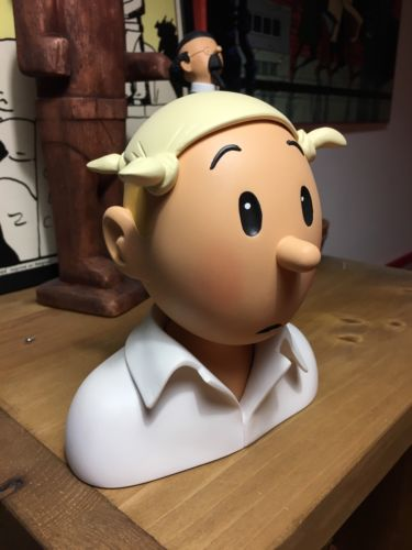 Tintin Buste Mouchoir Type Pixi Fariboles Aroutcheff