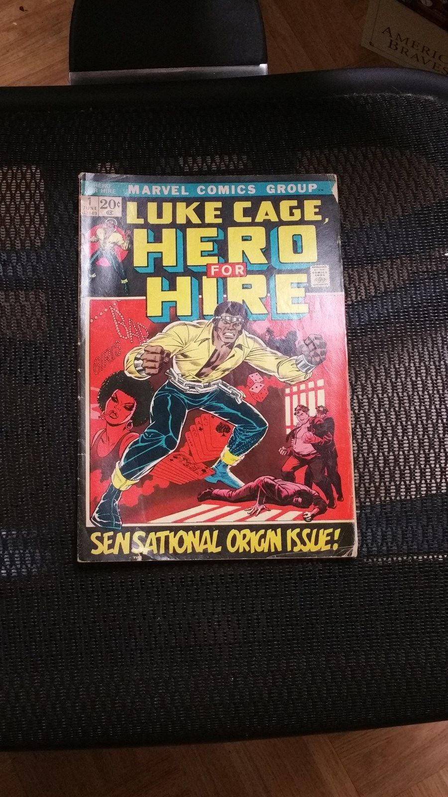Marvel Comics Luke Cage Hero For Hire 1 June 1972 Sensational Origin Issue