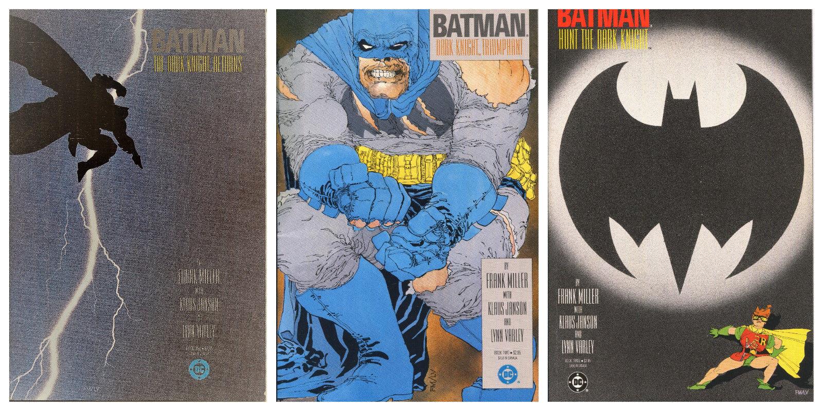 Batman The Dark Knight Returns #1-3 tpb lot, Frank Miller, Klaus Janson