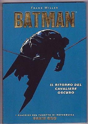 BATMAN THE DARK KNIGHT RETURNS ITALIAN TPB NM SIGNED BY FRANK MILLER DC COMICS