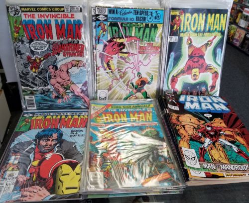 Iron Man 120-240 + Annuals 3-9 Complete Bronze Full Run Marvel Higher Grades NM