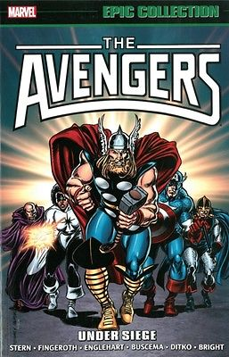 Avengers Epic Collection: Under Siege (Epic Collection: Avengers) (The Avengers.