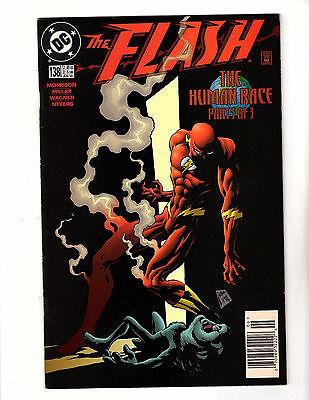 The Flash #138 (1998, DC) FN- Vol 2 1st App Black Flash Morrison Millar CW Show
