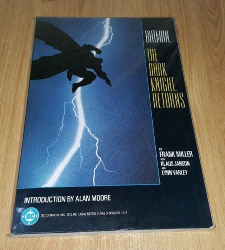 BATMAN THE DARK KNIGHT RETURNS TPB ==  NM/NM+ 1ST PRINT FRANK MILLER 1986
