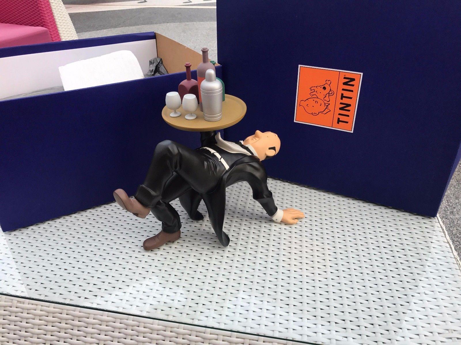 Tintin Moulinsart Nestor Plateau No Aroutcheff