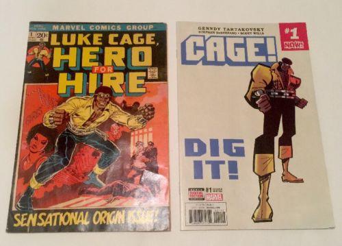 LUKE CAGE, HERO FOR HIRE 1 (Marvel 1972) KEY #1 Origin Issue / Power Man Netflix