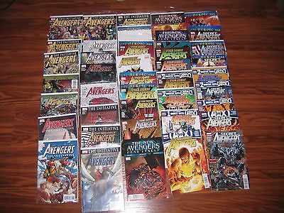 Avengers Lot; Initiative,Mighty Avengers,New Avengers,Secret Avengers 42 Books