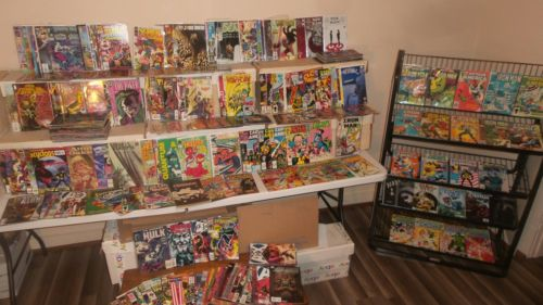 Huge 300 + comic lot Bronze age & up IRON MAN CAPTAIN AMERICA DAZZLER DC image