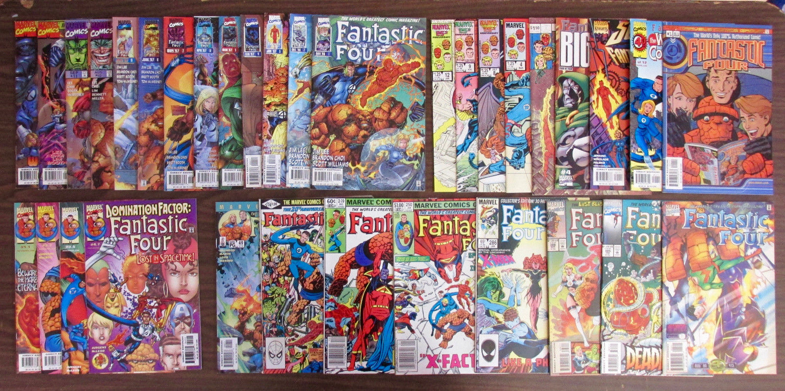 FANTASTIC FOUR 236,249,250,285,286,415,1-13+9 is.+4 INDEX+CHRONICLES VF/NM 9.0