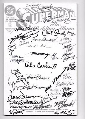 Superman, The Wedding Album No. 1, Special, DEC 1996, Many Autographs Must See