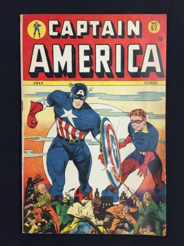 Captain America Comics #57 - Timely Marvel Comics - 1946