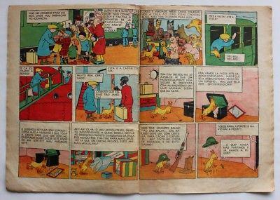 RARE Portuguese Vintage Comics Magazine O PAPAGAIO #209 1939 TINTIN HERGE