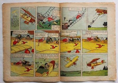 RARE Portuguese Vintage Comics Magazine O PAPAGAIO #243 1939 TINTIN HERGE
