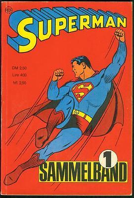 Superman Sammelband Nr.1 von 1967 mit Superman 1.Jahrgang 1966 Nr.1-4 - EHAPA